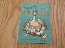 Antique Booklet The Metropolitan Mother Goose Ad For Metropolitan Life Insurance