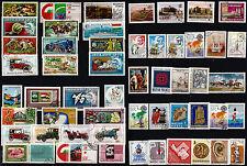 HONGRIE 54 timbres oblitérés , sujets divers   204T5