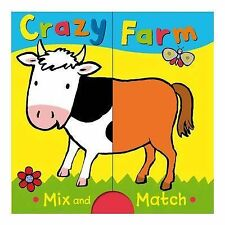 Crazy Farm: Mix and Match Board Book