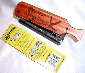HS Strut Cutter Deuce One Hand Turkey Box Call 06799