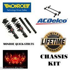 Monroe Quick Strut Front Struts Rear Shocks Front Sway Bar Links  KIT Warranty