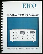 EICO Model 753 Tri-Band Transceiver Operating Manual