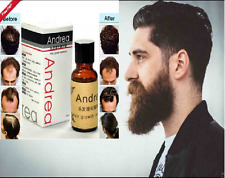 NATURAL FACIAL HAIR GROWTH TREATMENT SERUM GROW MUSTACHE BEARD EYEBROWS FAST