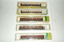 Minitrix Orient Express Wagen Jeu 5-TEILIG Illuminé 13178 13180 13179 13182 N