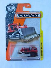 Matchbox Ground Breaker # 35 bull dozer red