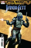 Star Wars: Age of Republic Jango Fett Main Cover STOCK PHOTO Marvel 2019 00111