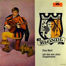"""7"""" BLONDL Das Bett / Ich bin ein alter Orgelmann WERNER MARINELL POLYDOR A 1969"""