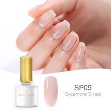 BORN PRETTY 6ml Jelly  UV LED Gel Polish Pink Soak Off Semi-transparent Nail