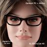 Bausch & Lomb (B&L) CAT EYE True Antique NOS Eyeglasses and Case  22X48