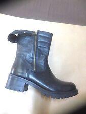 Boots Cafè noir cuir noir NEUVE Valeur 175E Pointure 40