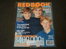 2001 SEPTEMBER REDBOOK MAGAZINE - PRINCESS DIANA & HER BOYS - O 7452