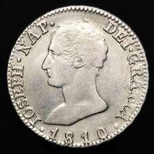 *Lucernae* España - José Napoleon, 4 reales, 1810 AI. - Madrid (8497)