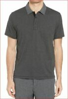 new Rag & Bone men shirt classic stripe polo M284T30JC black XL MSRP $125