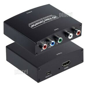 NK-P60 HD Video Converter YPbPr To HDMI Converter Component To HDMI Converter