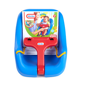 Little Tikes 2-In-1 Snug And Secure Swing Can hold up to 50 lbs - Blue (617973)