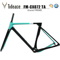 700C*40 or 27.5er*2.1 Carbon Cyclocross Gravel Bicycle Frame Road MTB Bike Frame
