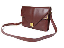 Authentic CARTIER Cartier Must De Vintage Bordeaux Shoulder Bag CS15371L