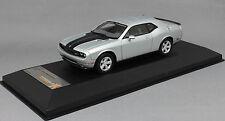 Premium X Dodge Challenger SRT8 in Silver 2009 PR0033 RRP £49.99 1/43 NEW Resin