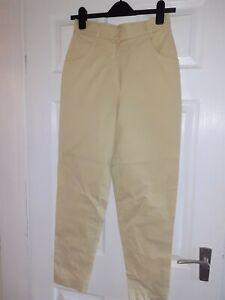 Pantalones De Mujer Amarillos Compra Online En Ebay