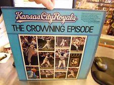 Kansas City Royals Crowning Episode LP 1980 RARE Denny Matthews George Brett
