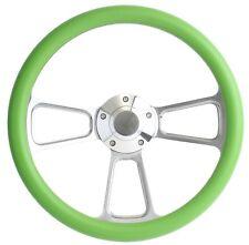 Volkswagen Green & Billet Steering Wheel Kit for 1960 - 1973 VW's All Models