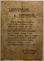 """RSI """"LIBERATORI E PATRIOTI"""" volantino di propaganda Repubblica Sociale Italiana"""