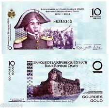 HAITI Billet 10 Gourde 2014 ( 2015 )  P272 COMMEMORATIVE NEUF UNC