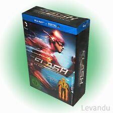 Blu-ray THE FLASH - DIE KOMPLETTE 1. STAFFEL (+ Comic & Actionfigur) - 4 Disc's