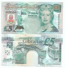 GIBRALTAR Millennium Commemorative Banknote UNC 5pounds