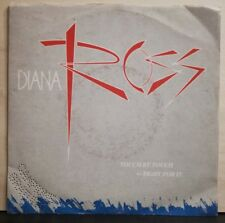 DIANA ROSS - TOUCH BY TOUCH - FIGHT FOR IT - 45 GIRI NUOVO - PROMO E.S. 1984