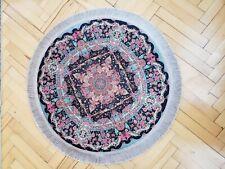 2.7x2.7 ft,beautiful turkish circle rug,home decor wall cover, oriental anatolia