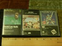 Y&T ~ In Rock We Trust + AC/DC ~ Dirty Deeds Done Dirt Cheap + David Lee Roth