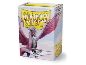 Matte Pink 100 ct Dragon Shield Sleeves Standard Size FREE SHIPPING! 10% OFF 2+