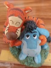 Eeyore + Tigger figurine Disney Simply Pooh So This Is What Smiling Feels Like
