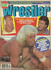 The Wrestler Wrestling Magazine February 1986 Hulk Hogan Ric Flair Dusty Rhodes