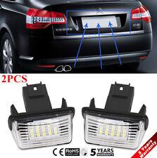 18LED License Plate Light Fit For Peugeot 206/207/307/308 Citroen C3/C4/C5/C6 US