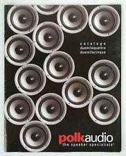 POLK AUDIO - CATALOGO AUDIO - ANNO 2004/2005 - IN ITALIANO - 35 PAGINE