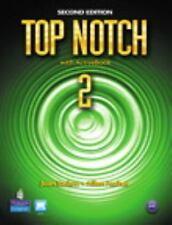 Top Notch 2 Student Bk. w/Active Bk (CD ROM) ESL 2nd Ed. NEW 9780132455589