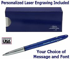 Fisher Personalized #400BBCL/P -  Blueberry Bullet Pen with Clip
