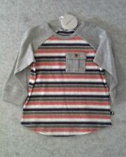 Boys Fox & Finch multi stripe long sleeved top size 18 months