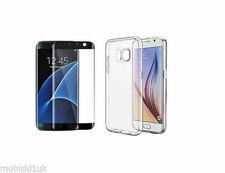 Étuis, housses et coques noirs Samsung Galaxy S7 edge en silicone, caoutchouc, gel pour téléphone mobile et assistant personnel (PDA)