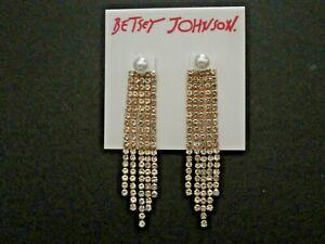 Betsey Johnson Jewelry earrings, new