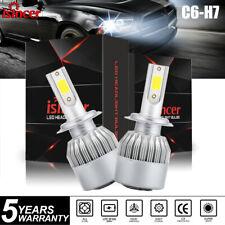 Pair H7 LED Headlight Kit 110W 18000LM High Low Beam Bulb CREE 6000K Lamp White