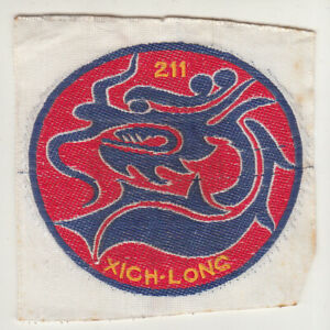 Wartime ARVN 2nd Battalion 11 Infantry Regiment Patch (115)