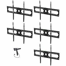 Lot5 Wall Mount/Mounting Bracket Flat Screen/Panel LCD/LED/HDTV/TV/Monitor/PC$SH