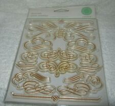 Martha Stewart Create - Flourish - Clear Stamps - New Package - Pretty Stamps