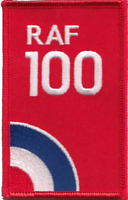 Royal Air Force RAF Centenary 100 Years Target Logo Embroidered Patch