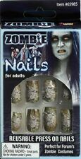Zombie Monster Gory Finger Nails Fingernails Fake Accessory Costume Halloween