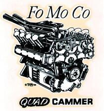 "ED ""BIG DADDY"" ROTH FO MO CO QUAD CAMMER ORIGINAL 1966 DECAL STICKER"
