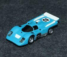 Aurora AFX HO Slot Car Ferrari 512M #2 Flamethrower Magna-Traction Blue